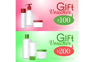 Gift Voucher Cosmetic