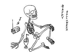 Relaxing skeleton