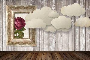 Paper Clouds Room Maker