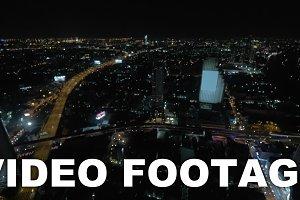 Evening panorama of Bangkok