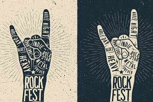 Rock Fest Poster Template