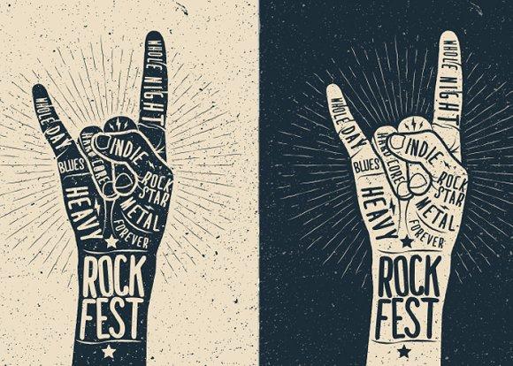 Rock Fest Poster Template