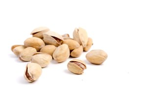 Solted pistachio nut