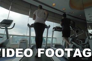 In Hong Kong, China in gym
