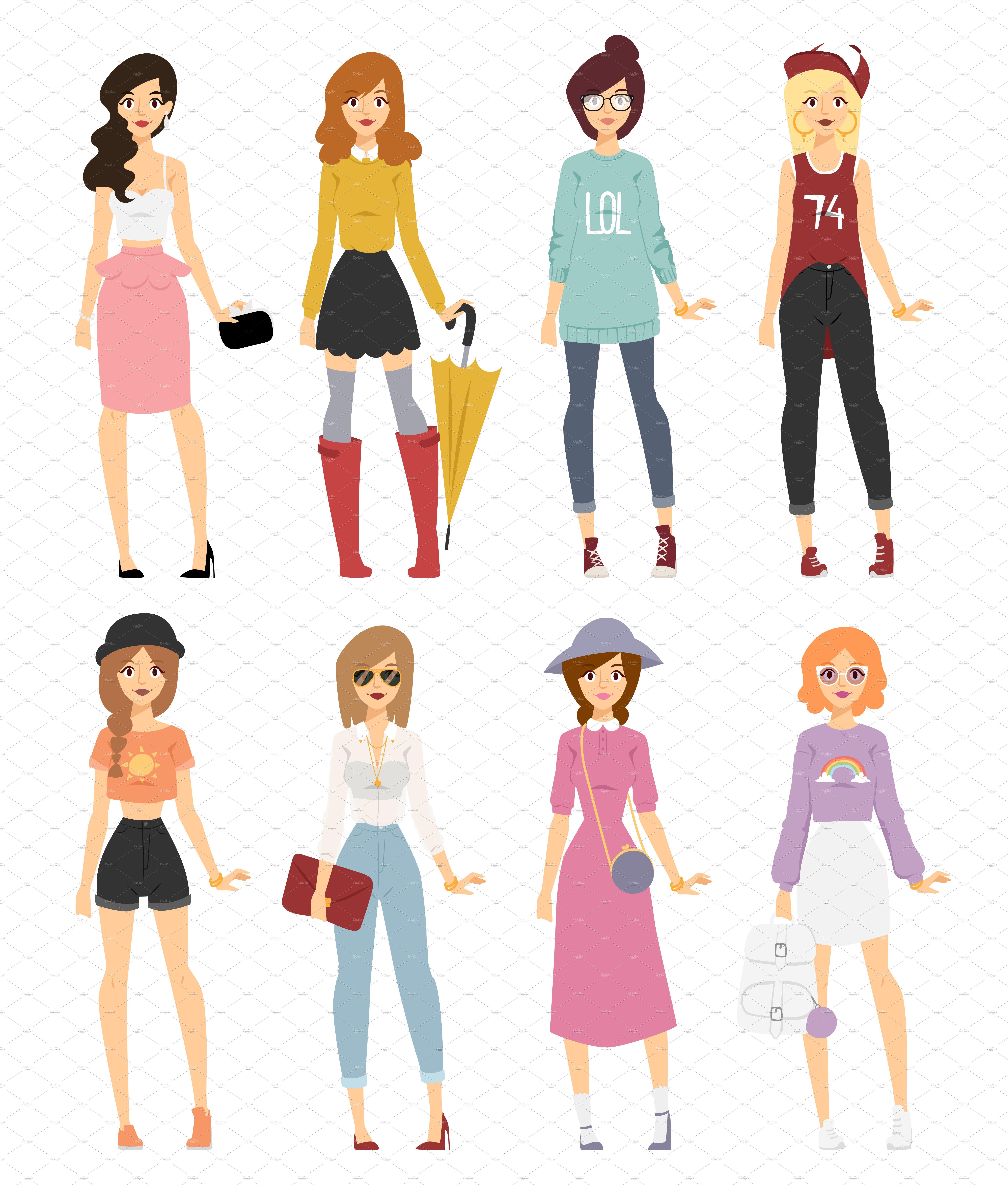 Catwalk Fashion Design Coloring Pages