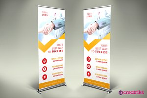Business Roll Up Banner - v043