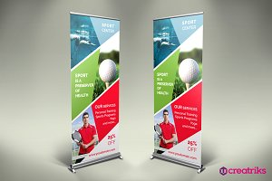 Sport Center - Roll Up Banner