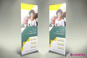 Business Roll Up Banner - v046