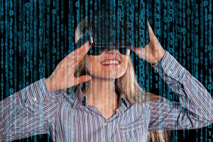virtual reality video game