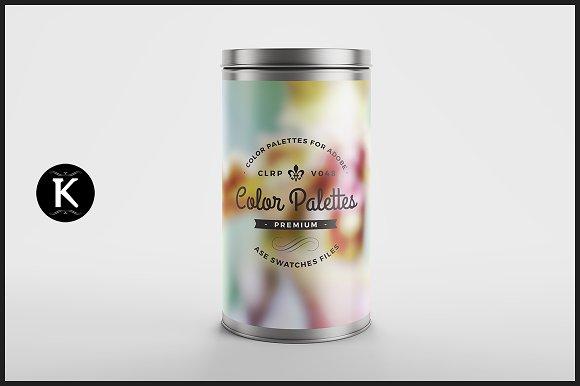 Color Palettes Can v.048 - Palettes