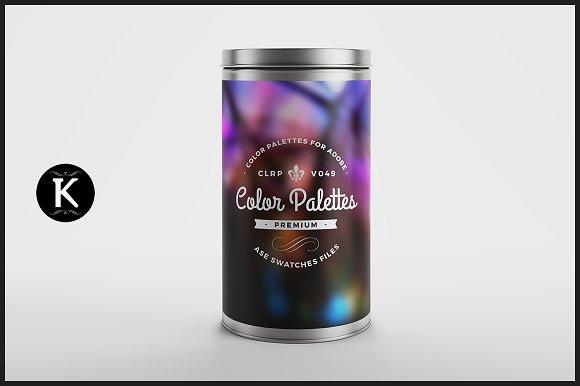 Color Palettes Can v.049 - Palettes
