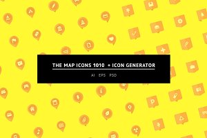 The Map Icons 1010 + Icon Generator