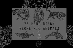 Geometric Animals Collection