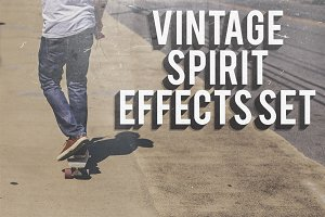 Vintage Spirit Effects Set