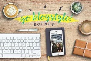 Go Blogstyle! Feminine Scenes Set