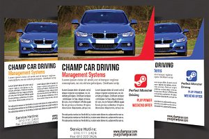 Champ Classic Car Flyer - 3 Colors