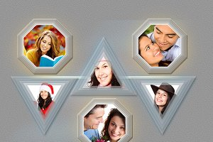 Photo Frame Template(20 in 02 PSD)