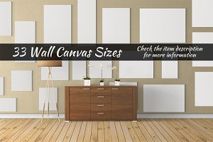 Canvas Mockups Vol 44