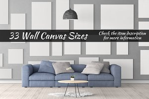Canvas Mockups Vol 46