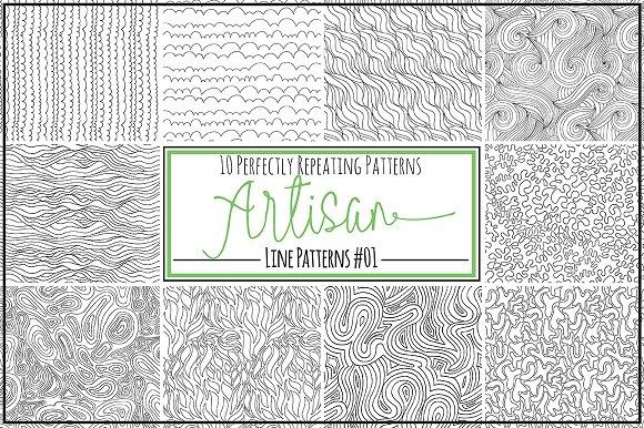 wave lines seamless design patterns graphic patterns creative market