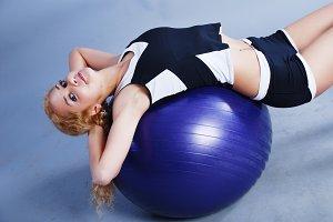 Beauty fitness woman