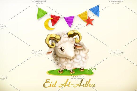 Muslim holiday eid al adha vector illustrations creative market muslim holiday eid al adha vector illustrations m4hsunfo