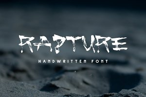 Rapture — Brush Font
