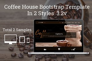 Coffee House One Page Bootstrap