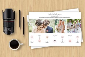 Wedding Day Timeline Template-V422