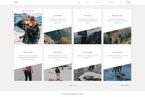 Up - Blog WordPress Theme