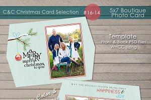 Christmas Photo Card Selection#16-14