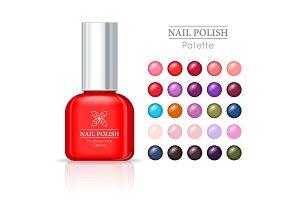 Nail Polish Pallet