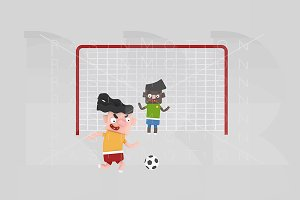 3d illustration. Penalty.
