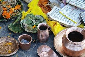 Offering ritual, Nepal