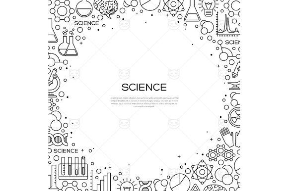 Science frame ~ Illustrations ~ Creative Market