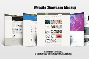 Website Showcase Mockup