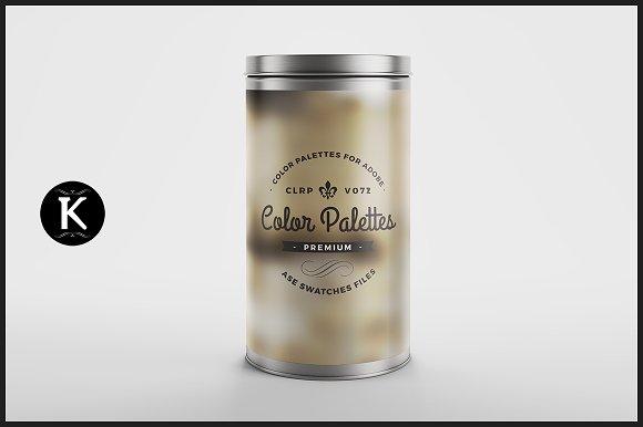 Color Palettes Can v.072 - Palettes