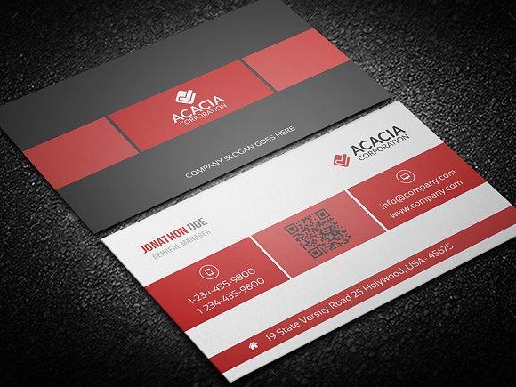 Box Business Card Business Card Templates Creative Market