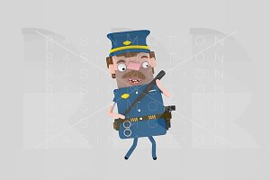 3d illustration. Cop.