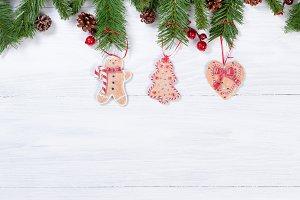 Hanging Xmas Cookies