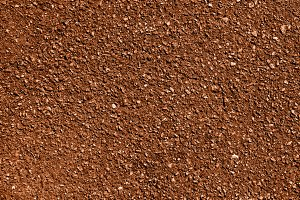 Brown earth and gravel texture