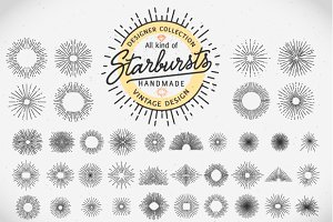 Starburst bundle with png files!