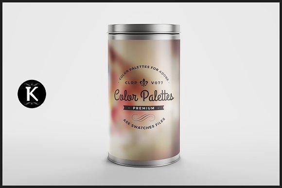 Color Palettes Can v.077 - Palettes