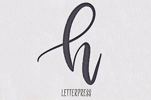 Letterpress for Procreate app