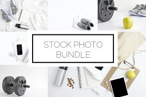 Fitness Stock Bundle (8 Images)