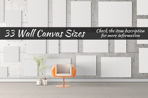 Canvas Mockups Vol 49