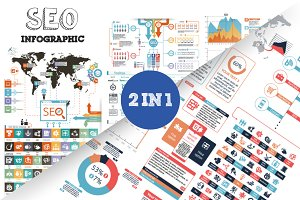 32% OFF SEO Infographic Bundle