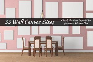 Canvas Mockups Vol 53