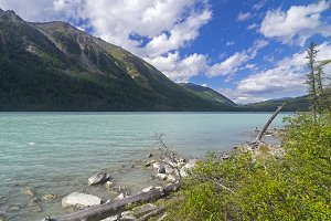 Kucherla lake. Altai Mountains.