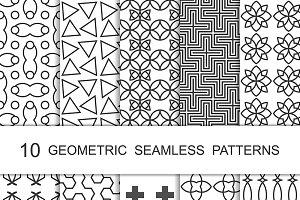 Seamless Geometric Patterns Set 2